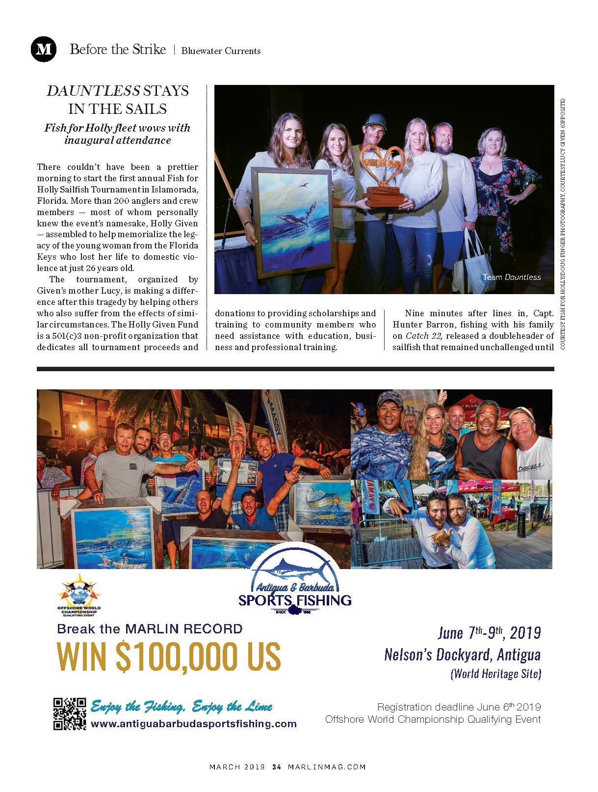 Marlin Magazine | Fish for Holly